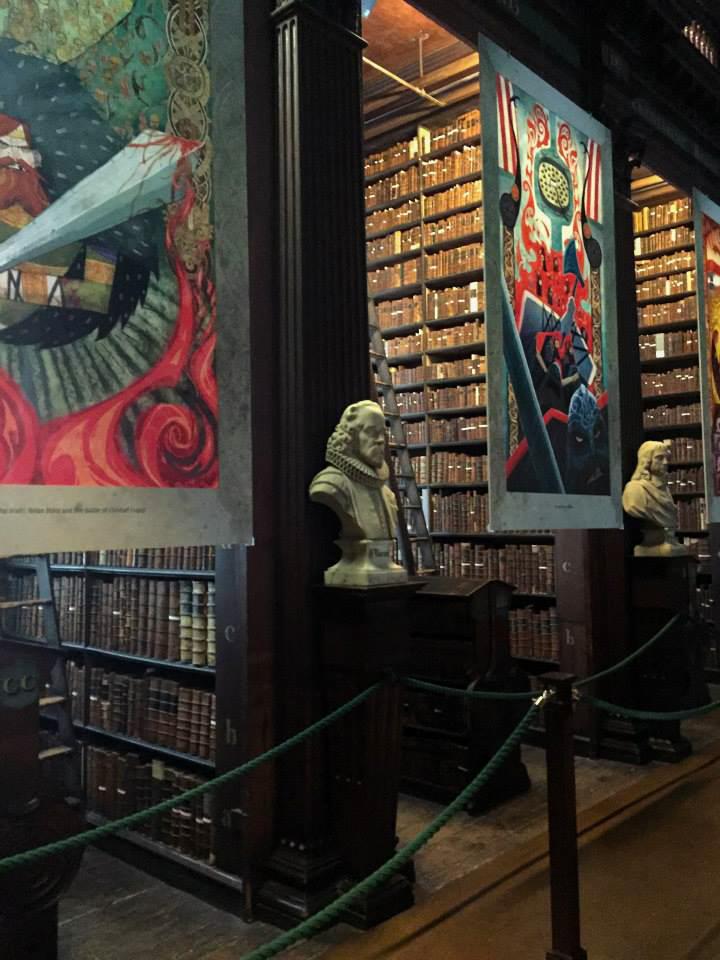 Dublin Ireland Trinity library