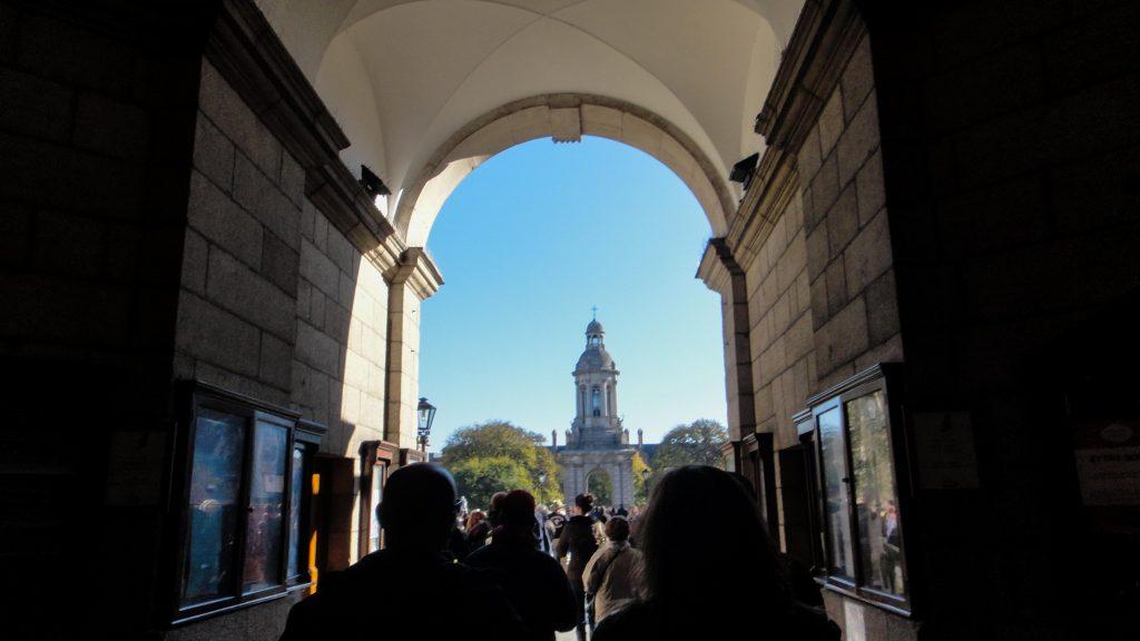 Trinity college main entrance