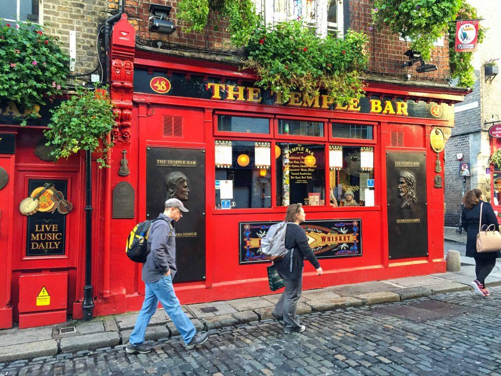 Dublin Ireland the Temple bar
