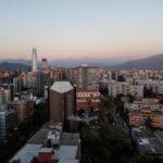Santiago balcony view