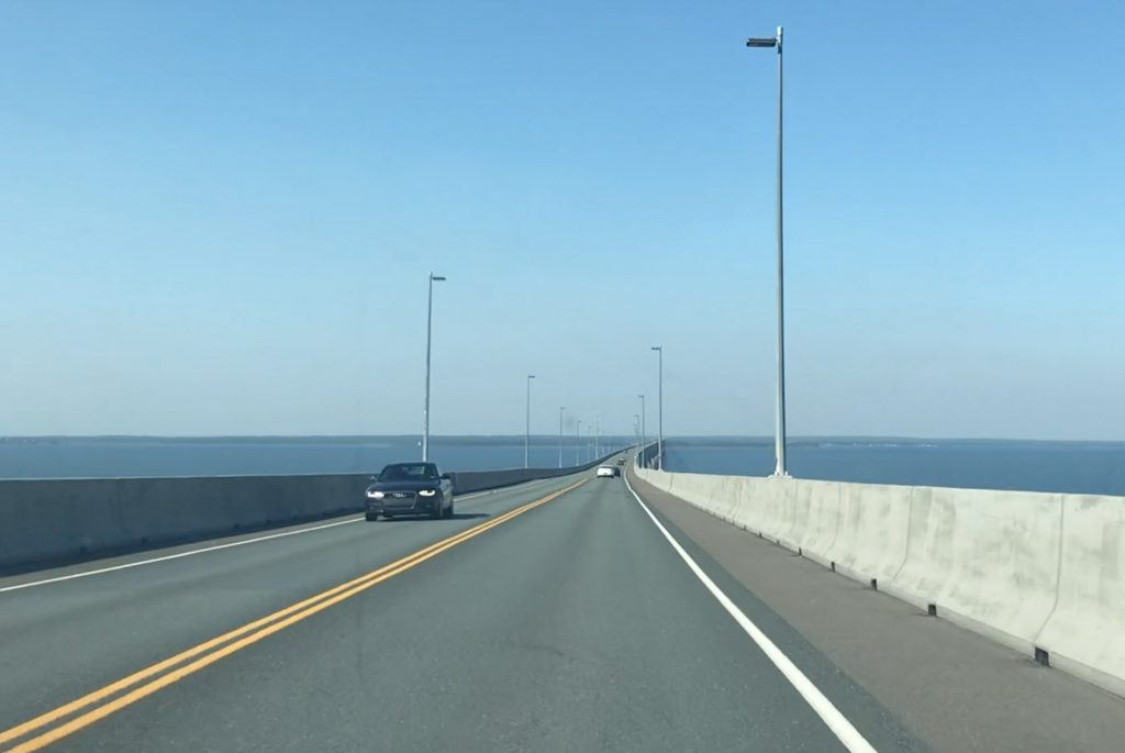 Crossing the Confederation Bridge